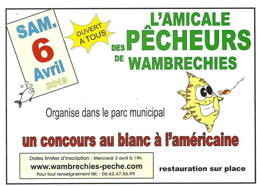 affiche concours pêche avril 2019