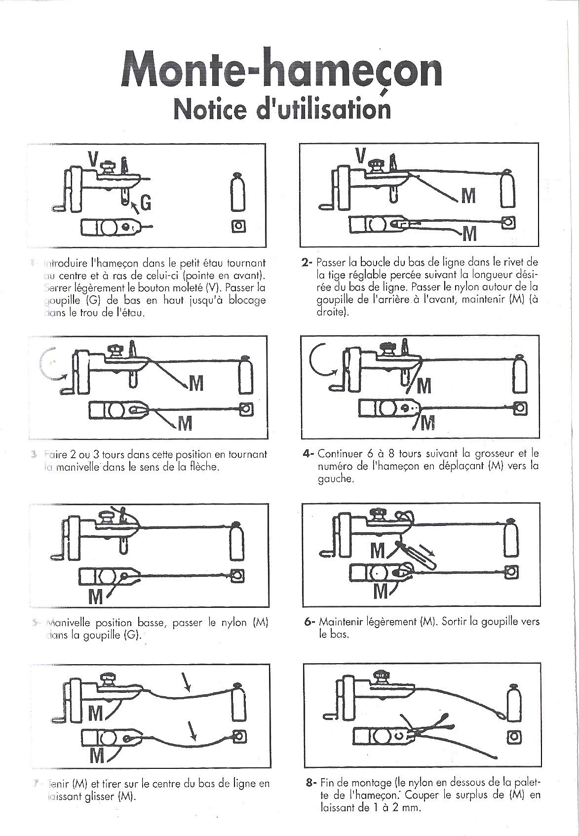 guides d utilisation du mat riel de p che. Black Bedroom Furniture Sets. Home Design Ideas