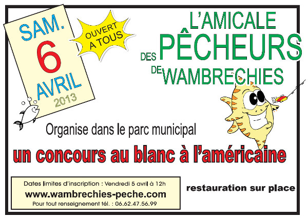 affiche concours 6 avril 2013